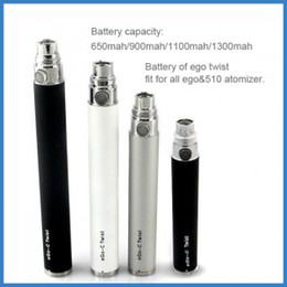 Wholesale Ego C Twists Joyetech - EGO-c twist spinner battery 650mAh 900mAh 1100mAh by Joyetech