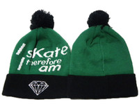 Wholesale Cheap Retail Supplies - Retail 1pcs Diamond Supply co. Beanie Popular Style Skullies Beanie Cheap Snapbacks Hats Caps Winter Street Wear Warm Beanies Top Quality