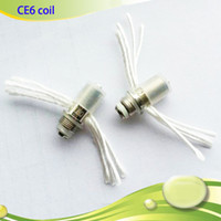 Wholesale Ego Resistor - Ego Resistor Replacement Wicks Clearomizer Coil Head for CE6 CE4 V3 Multi Wicks For eGo E Cig CE4 CE5 Atomizer