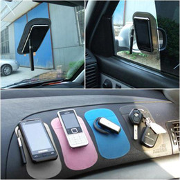 Wholesale Phone Pdas - S5Q Car Dashboard Sticky Pad Magic Anti-Slip Non Slip Mat Mobile Phone GPS PDA AAAASH