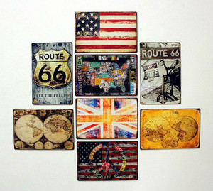Wholesale CM Tin Sign Coffee Shop or Bar Restaurant Vintage Tin signs Wall Art decoration Bar Metal Paintings Tin Sign