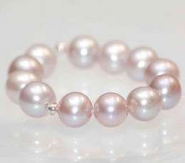 Wholesale freshwater pearls loose beads - 8-8.5mm AA Quality Round Shape Lavender Genuine Freshwater Pearl Loose Beads Special Offer 12pcs Pearl Jewelry New Free Shipping