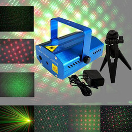 Wholesale Stage Lighting Stars - S5Q Mini Projector Holographic Laser Star Stage DJ Lighting Disco Party Lights AAAAOE