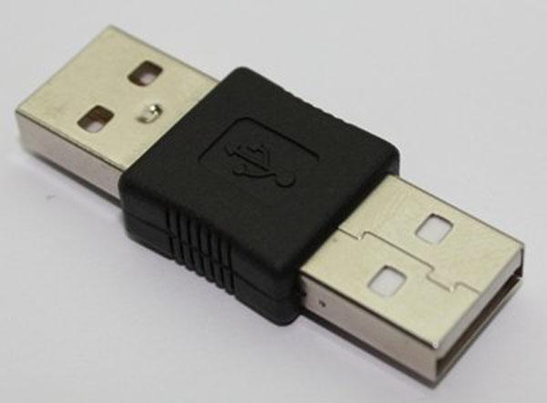 الجملة / ميني USB 2.0 ذكر إلى USB 2.0 ذكر محول موصل التمديد