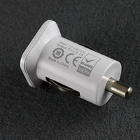 Wholesale Dual Car Charger Usams Retail - USAMS dual usb car charger for iPhone iPAD ipod Samsung HTC with retail package 5V 3.1A 100pcs Free DHL Fedex