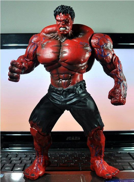 2017 10 Red Hulk Action Figure The Avengers Pvc Figure Toy ...