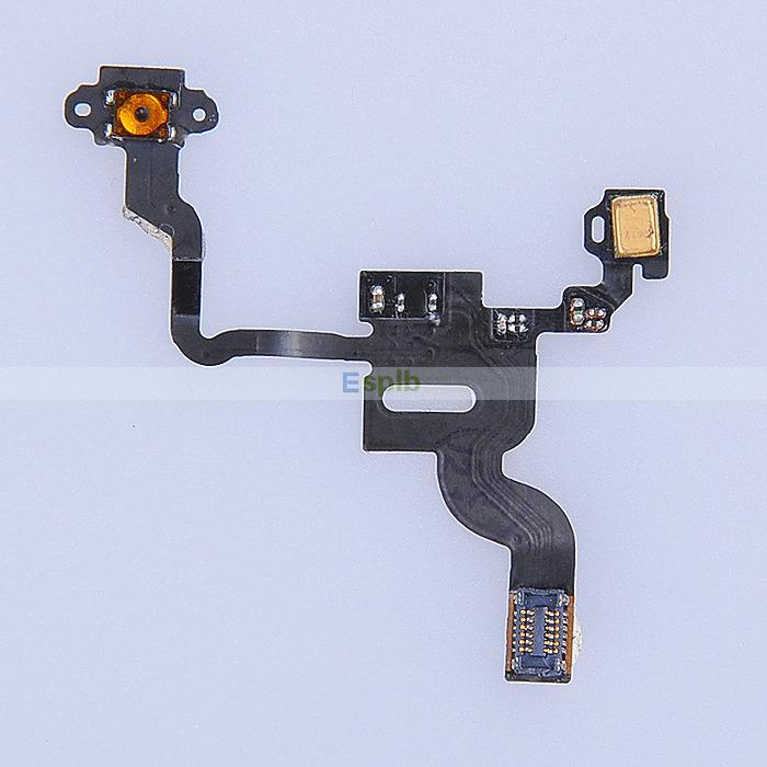 4 4G 4S Proximity Light Sensor Power Button Flex Ribbon ...