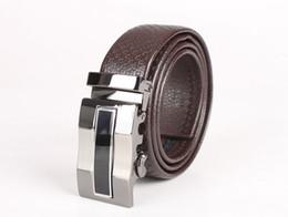 $enCountryForm.capitalKeyWord Canada - Mens Automatic Buckle Embossed Leather Belt (black coffee)