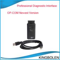 Wholesale Diagnostic Tools Op Com - Professional opel diagnostic interface op-com newest version V1.45 op com OBDII diagnostic tool