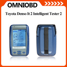 Wholesale Vw Fast - Fast Toyota IT2 Diagnostic DENSO Tester II Professional For Lexus Suzuki Toyota it2 Scanner denso it 2 scanner