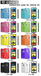 China redpepper Waterproof Case For Iphone 4 4S 5 5S 5C 6 6S Plus Samsung Galaxy S3 S4 S5 S6 Note 2 3 4 Shockproof Case Retail Packaging suppliers