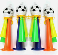 Wholesale Horn Cup World - World Cup Fan Horn Cheerleading Essential Bugle Competions Bar Party Horns Toy