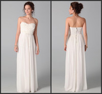 Wholesale Design Club Dress - 2015 Party Dresses Newest Design Sweetheart White Junior Bridesmaid Dresses Floor-Length Sleeveless Party Gown Evening party Dresses