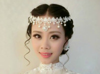 Wholesale Bollywood Wedding - Beautiful 2014 White Lace and Pearl Bollywood Wedding Bridal Jewelry