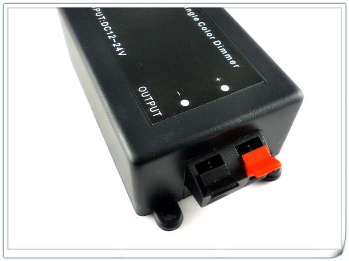 DC 12V 24V DC RF 단색 3528 5050 5630 LED 스트립 조명을 제어하는 조광기 조광기