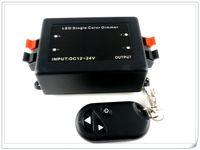 Wholesale Dimmer Bar - 4PCS 100% Full New 12V 24V DC 8A RF Single Color LED Dimmer Controller with Wireless Remote for Flexible LED Strip,LED Light Bar,Modules