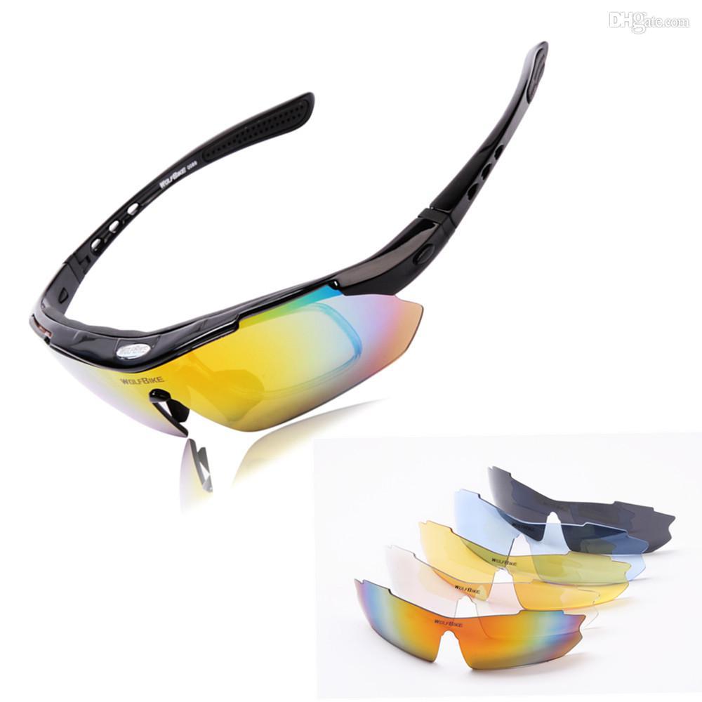 beffda45624b1 Compre WOLFBIKE Óculos De Ciclismo Óculos De Corrida Óculos De Segurança  Dos Esportes Da Motocicleta Polarizada Bicicleta Óculos De Sol Bicicleta  Eyewear 5 ...