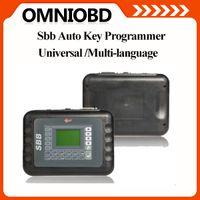 Wholesale Transponder Key Code Reader - Free shipping Multilanuage Silca Immbolizer SBB V33 Mult-brands Auto Key Programmer V33.2 Silca SBB Transponder Auto Keymaker