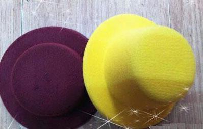 12 stks Hen Party Plain Mini Top Hat Clips voor DIY Haar Fascinator Hoofddeksels 13cm Mini Hat Gemengde 12 kleuren