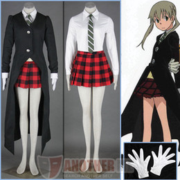 Soul Eater MAKA ALBARN Uniform Custom Made Cosplay Costume custom made any size