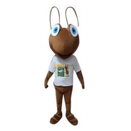 Wholesale Insect Mascot Costumes - Fancytrader 2014 Deluxe Ant Mascot Costume, Insect Mascot Costume With Fan & Helmet Real Pictures! Free Shipping! FT30638