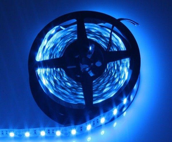 5m RGB LED-remsa 5050 SMD-60LED / M Flexibelt band Tape 12V Vit / Röd / Grön / Blå / Gult Flexibelt ljus