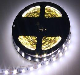 светодиодные лампы для кемпинга Скидка 5 м RGB светодиодные ленты 5050 SMD 60led / м гибкие ленты 12 в белый / красный / зеленый/синий / желтый гибкий свет
