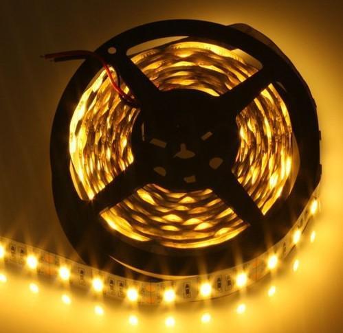5M RGB led Strip 5050 SMD 60led/m Flexible Ribbon Tape 12V White/Red/Green/Blue/Yellow Flexible Light