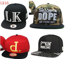 Wholesale Fresh Hats - new arrival LK snapback hats cayler and son trukfit snapbacks hat boy london caps fresh fitted baseball football pink dolphin cheap cap