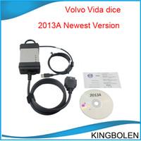 Wholesale Vida Dice Scanner - New Arrival For VOLVO DICE Professinal universal diagnostic tool auto scanner 2013A for Volvo vida dice