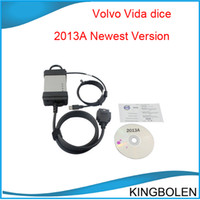 Wholesale Wholesale Volvo Vida Dice - Volvo Tester VOLVO VIDA DICE 2013A Newest Version Volvo Dice Tool Professional Diagnostic Tool