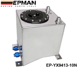 Wholesale Surge Tanks - EPMAN High Quality Universal Car Auto Fuel Surge Tank Container 10 Litre Swirl Pot System Alloy EP-YX9413-10N
