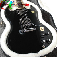 black sg guitar - Custom Angus Young AC DC SG Limited Edition Ebony Electric Guitar Rare guitars from china