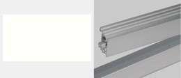 """Wholesale Hard Shell Cooler - 50X Hard Rigid Bar """"u"""" Style Shell Housing With End Cap For LED Strip DHL ship"""