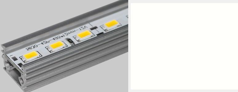 50倍50メートルのハードLEDストリップ5630 SMDクールホワイトウォームホワイトホワイトの堅い硬いバー72 LEDSストリップライト