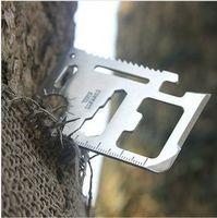 Wholesale Tools Swiss Army - Swiss Army Knife Ka Ruishi lifesaving card multifunction Swiss Card tool card free shipping