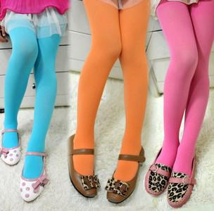 Bondique Kızlar Renkli Tayt Çorap Çocuk Giysileri Kızlar Kadife Külotlu Kız Tayt Çocuk Giyim Bahar Çorap 7930
