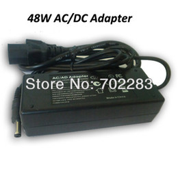 Wholesale Dc Output 12v - 6pcs 100-240V AC to 12V DC 4A 48W Table Style AC DC Adapter, Transformer for led lighting strips Input 100-240V AC, Output 12V DC
