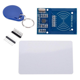 Wholesale Proximity Cards - S5Q MFRC-522 RC522 RFID Reader IC Card Proximity Module For Arduino AAACNV