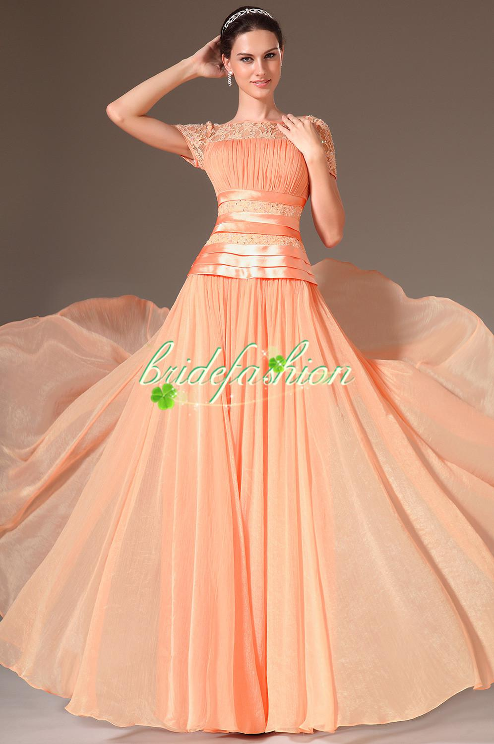 2014 Beautydesign graceful sheath satin mother of the bride …lace short prom gowns with long sleeves bolero jacket BO1711