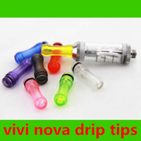 Wholesale Dct Pieces - 300 PCS Colorful Mouth Piece drip tips Electronic Cigarette Accessories for EE2  Vivi Nova  DCT T4 510 Electronic Cigarette Clearomizer