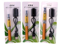 Wholesale Ego T New Style - High quality New style many color E-cigarette CE4 clearomizer EGO-T free shipping !