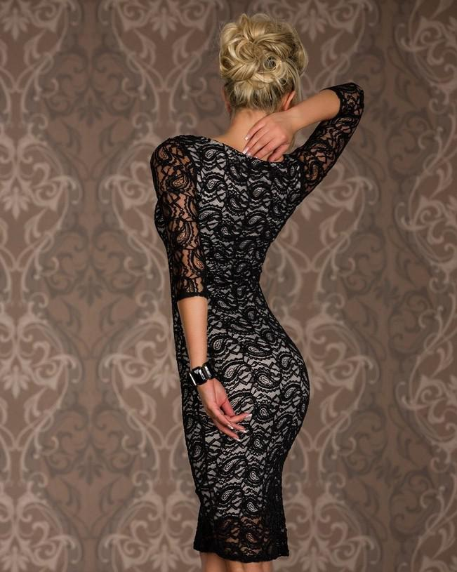 Hot Women's Sexy Clubwear Dresses Round Neck Bodycon Lace Cocktail Party Slim Club Wear Lady Casual Dress White / Red