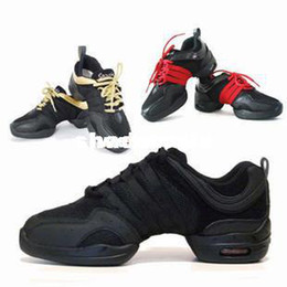 Wholesale Dance Shoes Jazz Sansha - Wholesale - Black red modern sansha dance shoes jazz shoes hip-hop shoes