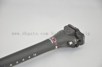 Wholesale Carbon Fiber Mtb Parts - EC90 Full carbon fiber Road&mtb bicycle seatpost bicycle parts 27.2 31.6*400mm