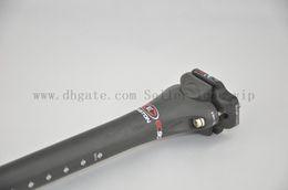 Wholesale Mountain Bike Seatpost - EC90 Full carbon fiber Road&mtb bicycle seatpost bicycle parts 27.2 31.6*400mm