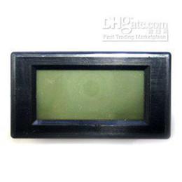 Wholesale Ac Digital Volt Meter Blue - Wholesale - - High quality New Blue LCD Digital Volt Panel Meter AC 500V [K172]