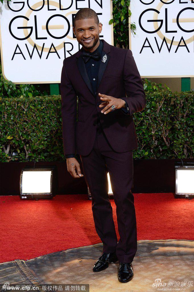 2019 Nuovo Arriva Vino rosso Smoking dello sposo 71 ° Golden Globe Awards Groomsmen Uomo Abiti da sposa Giacca + Pantaloni + Cravatta + Gilet