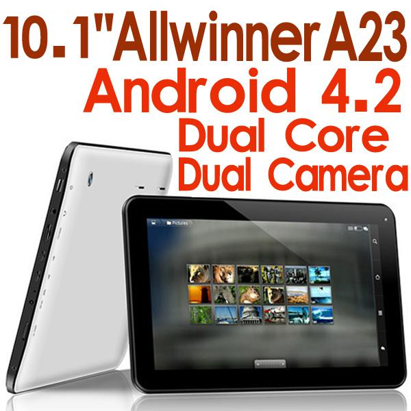 Kid Gift 10 1 inch Tablet Allwinner A23 8GB ROM Dual Camera Dual Core CPU  Android 4 2 Tablet PC Q90 A23 A13 Q88
