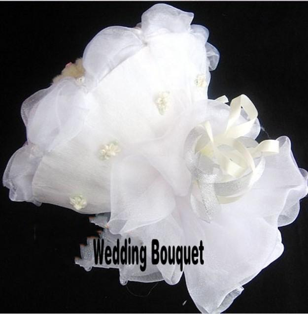 New Arrival White Organza Fabrics Voile Sheer Yarn for Romantic Wedding Decoration Party Favors 110Meter/roll